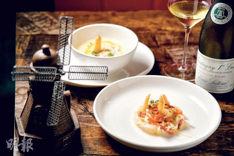 大南街新食力 「白玉美人」撐荷蘭海鮮
