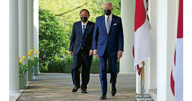 美日峰會聲明强調台海穩定 倡和平解決 關切香港新疆人權 華外交部抨擊