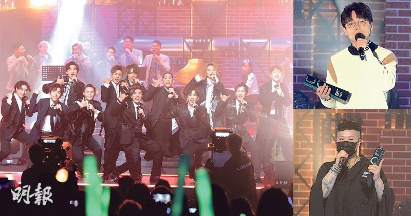 ViuTV首屆音樂頒獎禮 姜濤贏銀獎自信再成亞洲第一 林家謙奪6獎大贏家 膺男歌手金獎