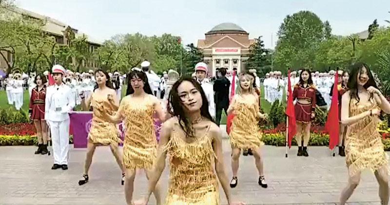 熱舞賀清華110年  女生被批辱校風  評論:憂風波後連低俗的空間都沒有