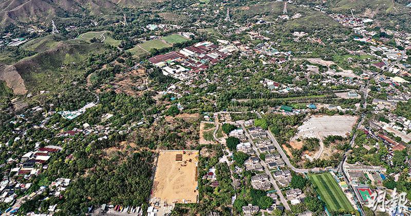 新地86億奪古洞官地 超估值四成  樓面呎價近7200元  雷霆:主打中小型單位