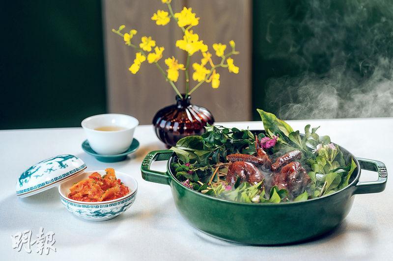 法式廚藝 融入中菜 乳鴿魚湯 「鮮」氣昇華