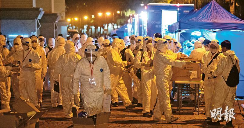 本地不明變種病毒首例  菲傭中招  居東涌病發後留社區5天  防護中心:非常緊張