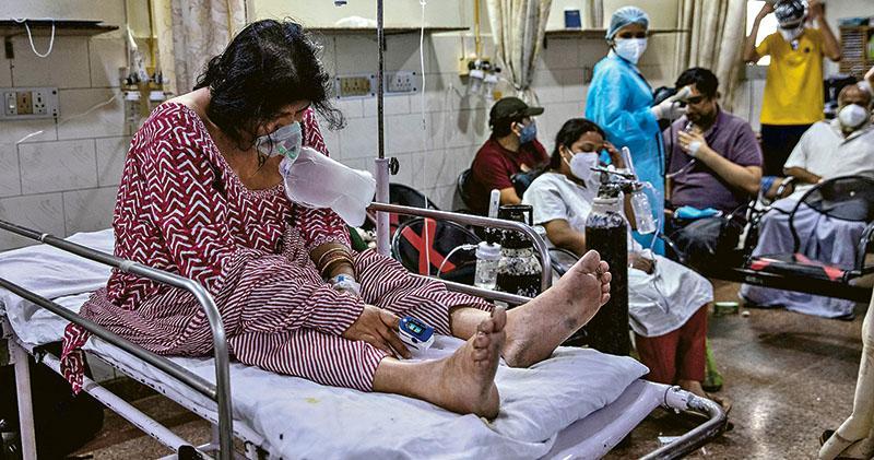 病牀藥物難求  印民網上互助自救  福奇籲借鏡中國  全國封城建臨時醫院
