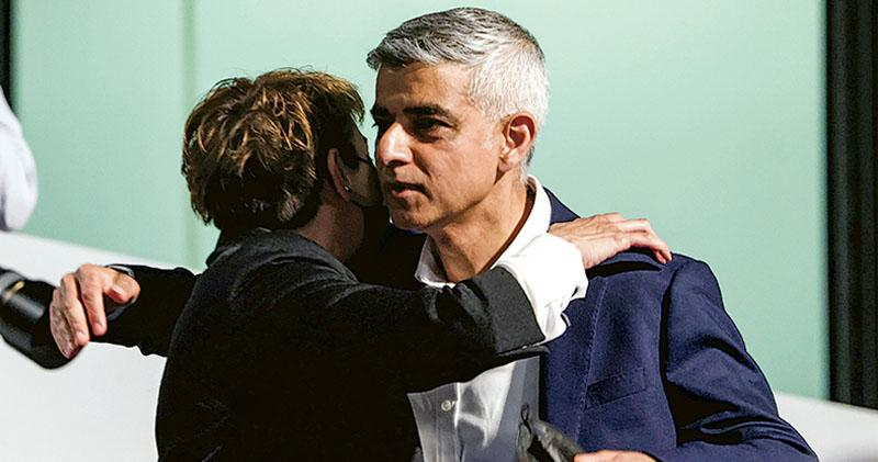 疫苗反彈利保守黨 地選失利工黨內訌 簡世德連任倫敦市長 成績遜預期