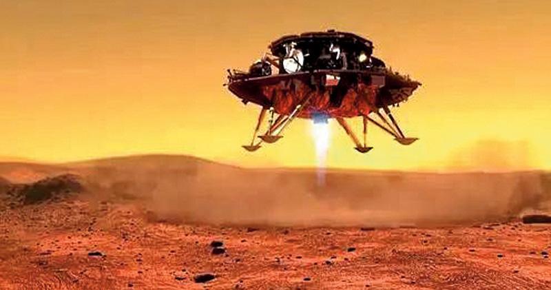 天問一號登陸火星 中國成繼美第二國 火星車「祝融號」出動探索 美俄祝賀