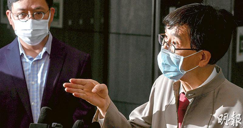 袁國勇:4歲童真陽性 或1月已感染 樣本無污染 「雙重感染」也可致未能驗出抗體