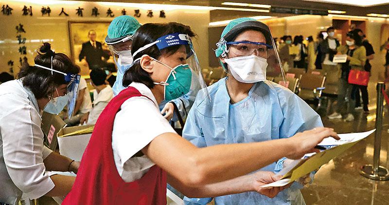 台增286宗  11醫療院所現感染  當局嚴打假消息  最重判囚3年