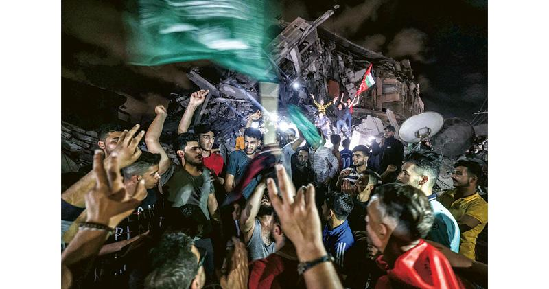 以巴甫停火 耶城清真寺衝突再起 11天戰事結束 雙方同稱違協議即報復