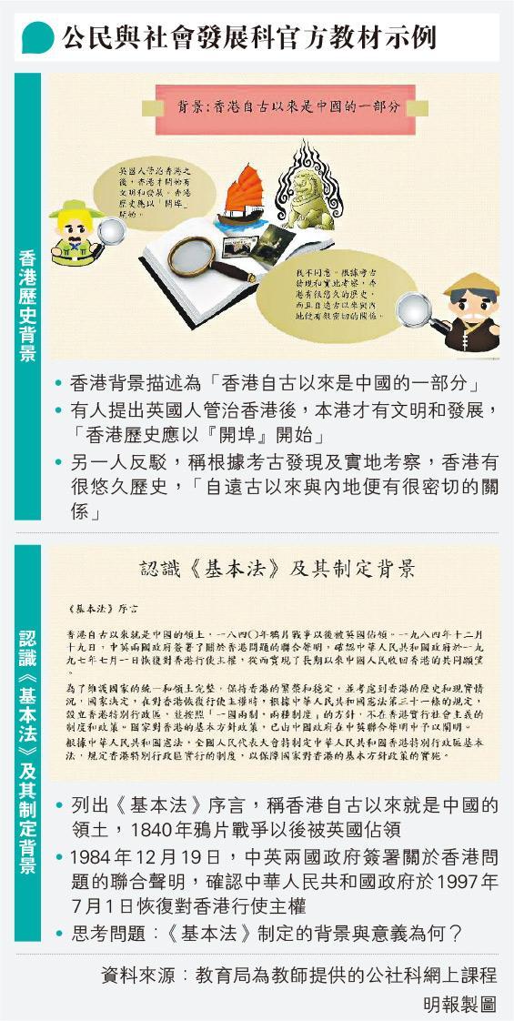 公社科首場培訓課 教師指內容似中史 主講:從不平等條約看香港問題