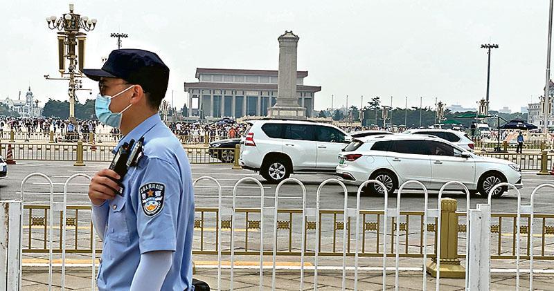 天安門首辦黨慶活動 領導人料將演說 周六日演練 6.23至7.1廣場關閉