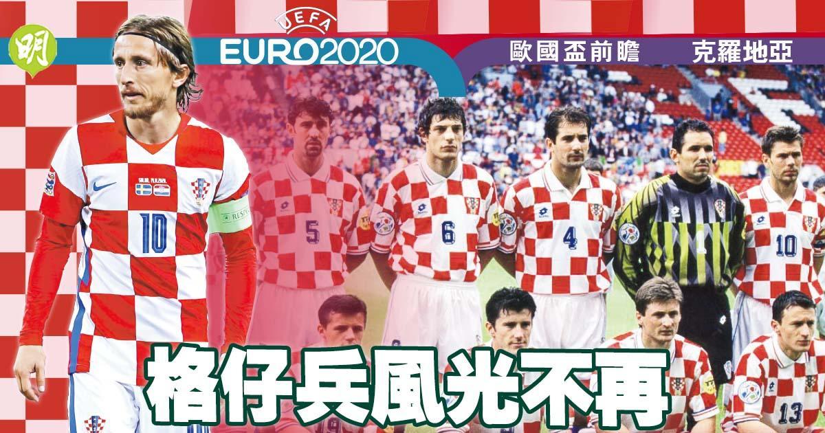 克羅地亞風光不再  世盃奪亞不進且退  續靠老兵莫迪歷支撐