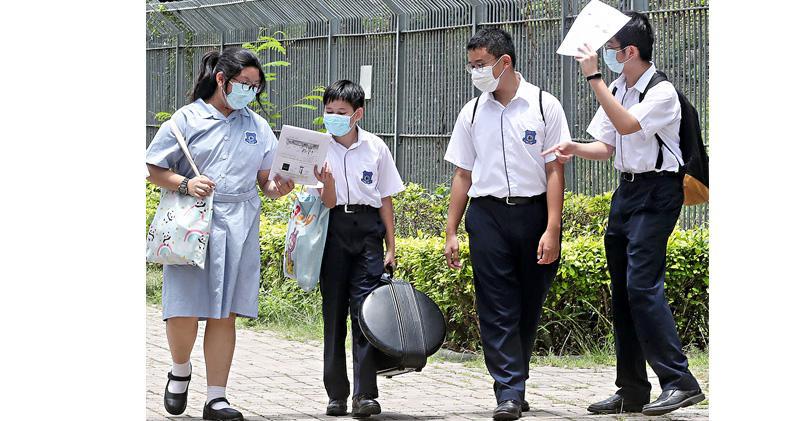 12至15歲周一起可打復必泰  教局稱學校七成接種有望全日面授  政黨籲先顧學童意願