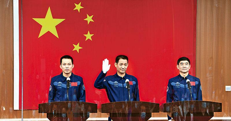 神舟十二今升空 3太空人肩負4使命  駐留3月  隊長聶海勝:有幸跑太空站建造首棒