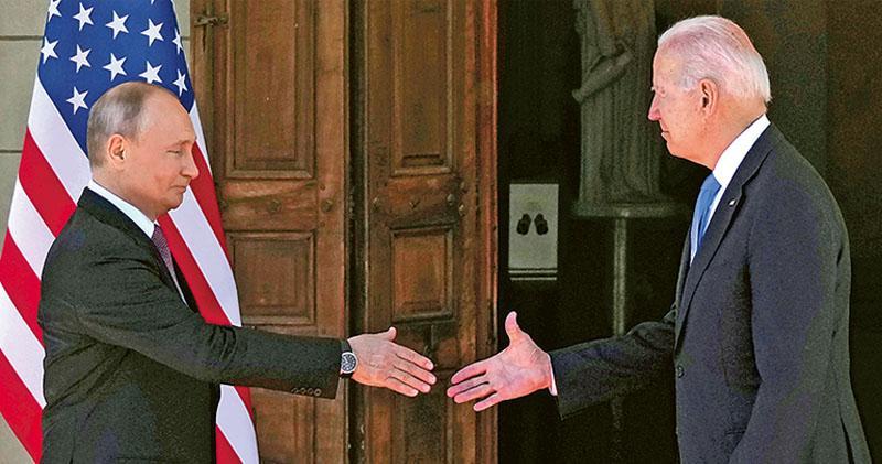 美俄峰會「具建設」 普京讚拜登老練 允復派大使商討軍控網安 仍有分歧