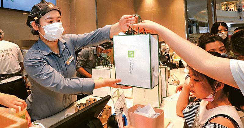 奈雪的茶今接力招股  入場費1萬  集資額最多51億  券商預留孖展逾650億