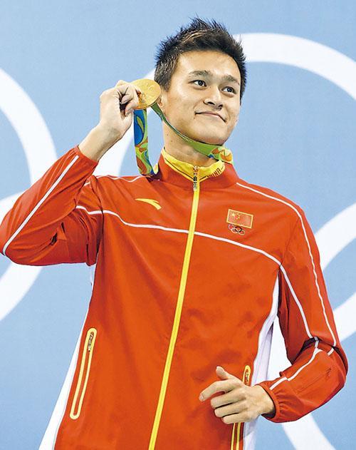 孫楊未棄泳手生涯  冀征巴黎奧運