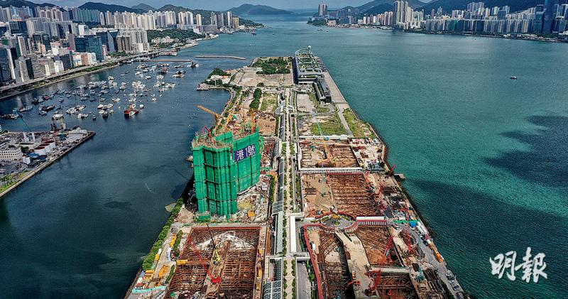 維港1號首批折實均呎逼2.3萬  低過同區THE HENLEY一成  1房656萬起進駐跑道區