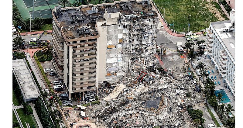 邁阿密住宅倒塌增至4死 159人失聯 瓦礫堆傳敲擊聲 當局仍信有人生還