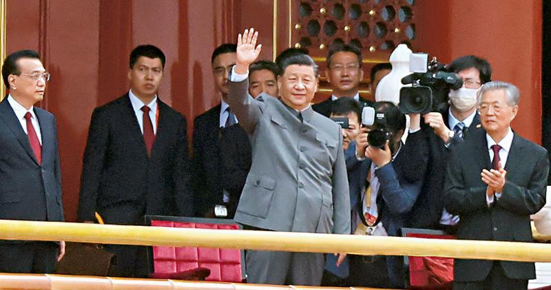 習近平:誰妄想欺負中國必頭破血流  黨慶大會談台灣問題  警告勿低估「強大能力」