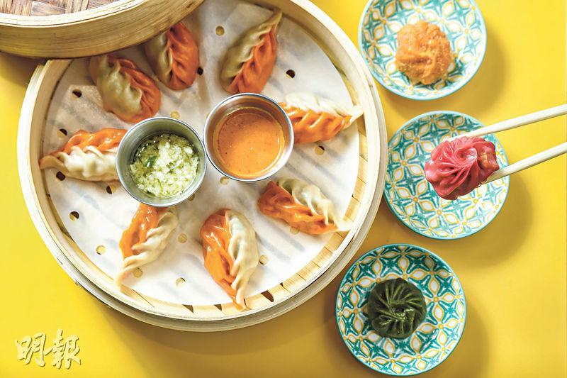 海南雞  咖喱  泡菜助攻  尼泊爾繽紛餃子  一咬噴香