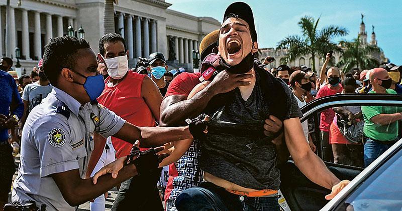 古巴爆30年來最大反政府示威 抗議缺糧缺藥 哈瓦那斥美國煽動
