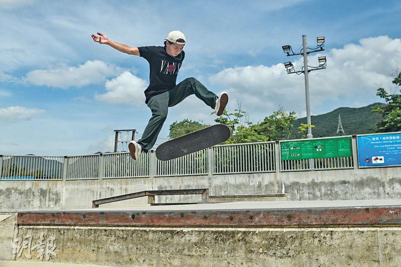 奧運玩樂企画(1)滑板篇 踩板講耐性 未學跳先學跌