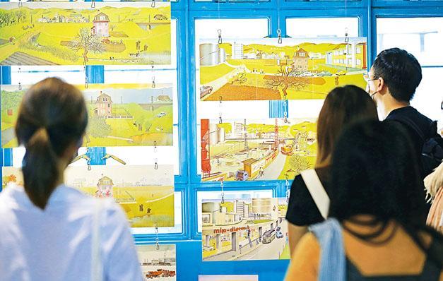 成人小孩都有共鳴  大自然繪本展  「悅」讀初心
