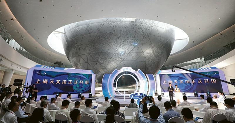 上海天文館開放 珍稀長興隕石亮相 建築面積稱冠全球 新華社:國際一流收藏水準