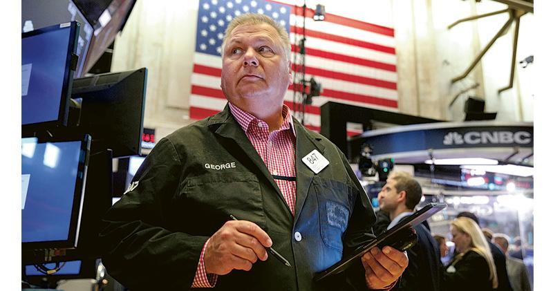 憂經濟見頂 美股三大指數轉跌 半導體金融股回軟 港股ADR挫逾240點