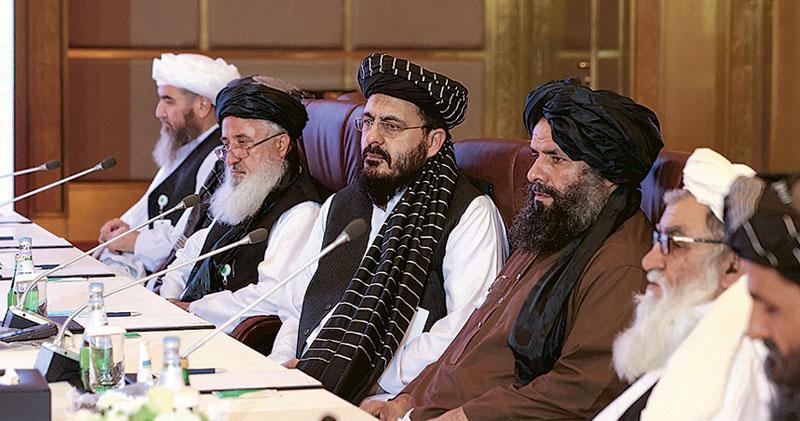 阿富汗和談3目標  美推四方平台維穩  商停火釋戰俘  塔利班批談判對手浪費時間
