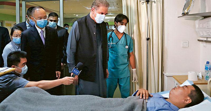 巴基斯坦:巴士恐襲疑針對中巴經濟走廊  稱調查步最後階段  京指水電站非「走廊」項目