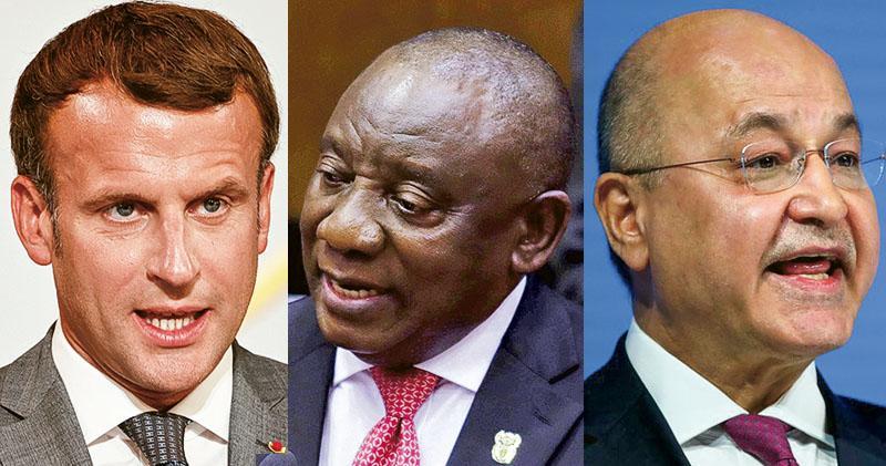 「飛馬」手機監控 馬克龍等領袖列目標 包括3國現任總統 法總統府:會徹查