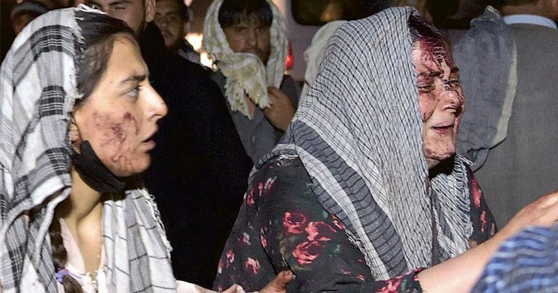 喀布爾連環爆炸 美軍多人死傷 情報預警ISIS分支機場附近發動恐襲