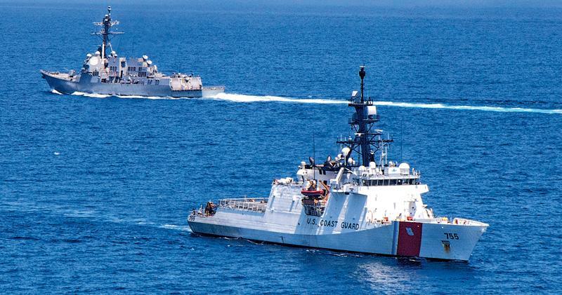 美雙艦穿台海 解放軍東海突擊訓練 東部戰區:依需要常態組織行動