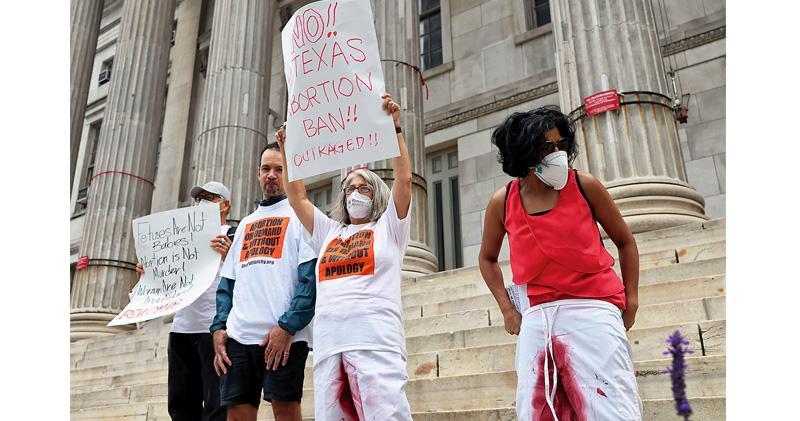 美最高院拒阻「最嚴苛墮胎法」生效 得州「心跳法」以懷孕6周為界 拜登反對誓捍憲法婦權