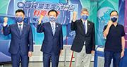國民黨傳「棄江保朱」 張亞中斥不道德 張異軍突起 黨內憂當選主席深藍復辟