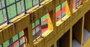 中學小息修葺 5樓鐵框墜操場 校內人質疑校方准上課日開工 無知會無圍封